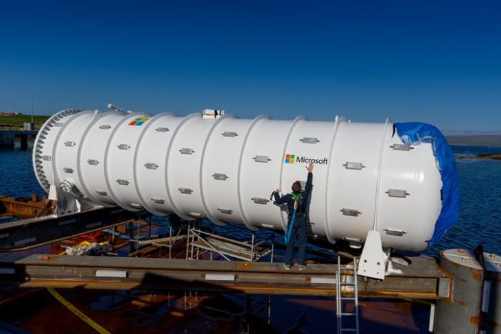 Microsoft instala un centro de datos en el fondo del mar