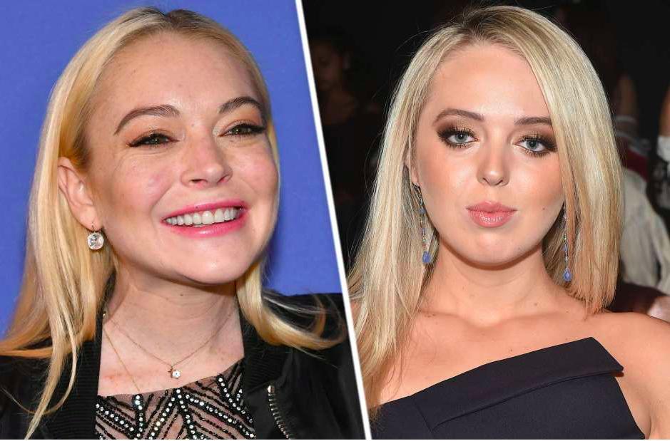 Captan a hija de Donald Trump y Lindsay Lohan juntas en Grecia