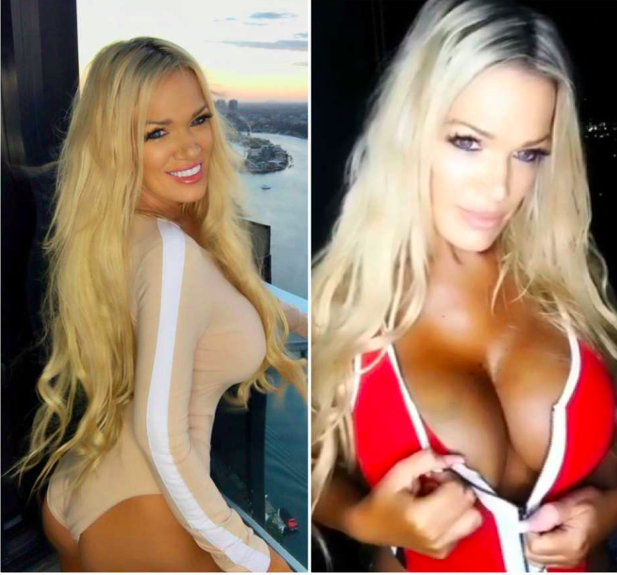 """La """"abuela más sexy del mundo"""" se despide de sus senos con sugerente topless"""