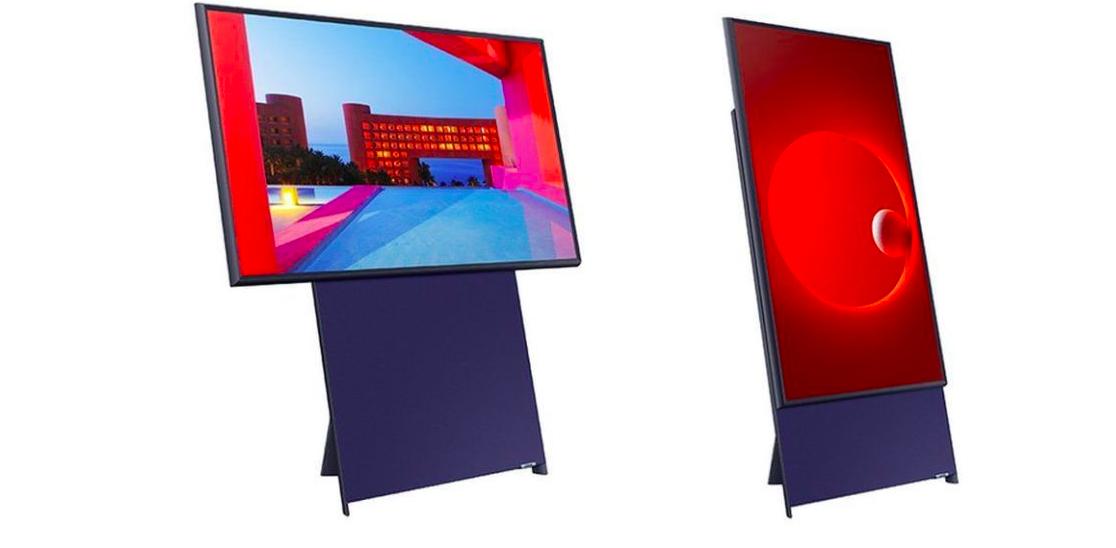 Samsung Sero: el televisor vertical con que la tecnológica apuesta para llegar a los millenials